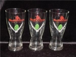 Click here to enlarge image and see more about item 598: Budweiser Beer Glasses