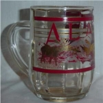 Click here to enlarge image and see more about item 604: Alaska Glass Mug