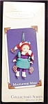Click here to enlarge image and see more about item 615h: 2002 Mistletoe Miss Hallmark Ornament