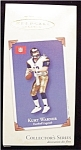 Click here to enlarge image and see more about item 616h: 2002 Kurt Warner Hallmark Ornament