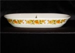 Click here to enlarge image and see more about item 624: Capri Divided Casserole Server