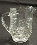 Click here to enlarge image and see more about item 62s: Early American Prescut Milk Pitcher