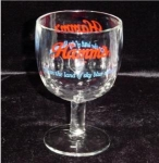 Click here to enlarge image and see more about item 632: Hamm's Beer Goblet