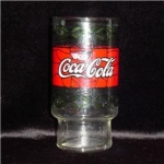 Click here to enlarge image and see more about item 642: Coca-Cola Drinking Glass