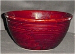 Click here to enlarge image and see more about item 642s: Marcrest Dot and Daisy Mixing Bowl