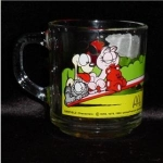 Click here to enlarge image and see more about item 644: Mcdonald's Odie & Garfield Mug