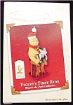 2002 Piglet's First Ride Hallmark Ornament