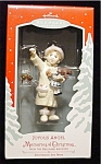 Click here to enlarge image and see more about item 666h: 2002 Joyous Angel Hallmark Ornament