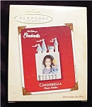2002 Cinderella Photo Holder Ornament