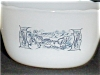 Click to view larger image of Fire King Currier & Ives Custard Cups 2 (Image2)