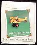 1930 Custom Biplane Mini Hallmark Ornament