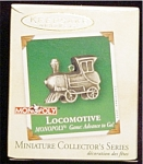 2002 Monopoly Locomotive Mini Ornament