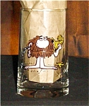 Click here to enlarge image and see more about item 684s:  BC Ice Age  Arbys Glass