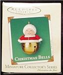 2002 Christmas Bells Mini Hallmark Ornament