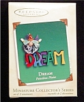 Click here to enlarge image and see more about item 691h: 2002 Dream Mini Hallmark Ornament