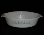 Click here to enlarge image and see more about item 693: Fire King Casserole Dish