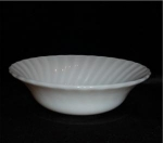 Click here to enlarge image and see more about item 694: Fire King Swirl Vegetable Bowl