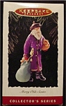Click here to enlarge image and see more about item 697h: 1995 Merry Olde Santa Hallmark Ornament