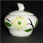Click here to enlarge image and see more about item 704s: Dogwood Pattern Sugar Bowl