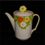 Click here to enlarge image and see more about item 705: Lefton China Teapot