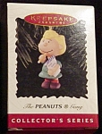 Click here to enlarge image and see more about item 705h: 1996 Sally The Peanuts Gang Hallmark Ornament