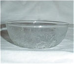 Click here to enlarge image and see more about item 709s: Anchor Hocking Sandwich Glass Bowl