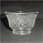 Click here to enlarge image and see more about item 710s: Anchor Hocking Sandwich Glass Berry Bowl