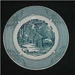 Click to view larger image of Currier And Ives Platter (Image1)