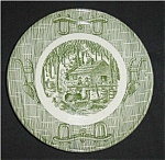 Click to view larger image of Currier And Ives Bread & Butter Plate (Image1)