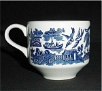 Blue Willow Made In England Cup