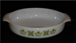 Click here to enlarge image and see more about item 71: Fire King Casserole Dish