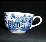 Blue Willow Cup