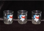 Click here to enlarge image and see more about item 722: Texas Drinking Glasses