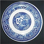 Blue Willow Bread & Butter Plate