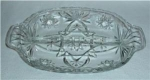 Click here to enlarge image and see more about item 72: Early American Prescut Relish Tray