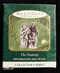 2000 The Nativity Miniature Hallmark Ornament