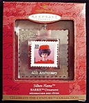 1999 Silken Barbie Stamp Hallmark Ornament