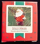 1986 Jolly Hiker Hallmark Ornament