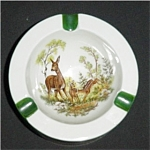 Click here to enlarge image and see more about item 745s: Animal Print Ashtray