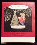Click here to enlarge image and see more about item 746h: 1994 Eager for Christmas Hallmark Ornament