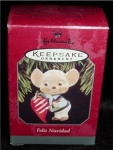 Click here to enlarge image and see more about item 74h: Feliz Navidad 1998 Hallmark Ornament