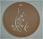 Click here to enlarge image and see more about item 763s: Harkerware Springtime USA Dinner Plate