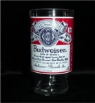 Click here to enlarge image and see more about item 771: Budweiser  Glass
