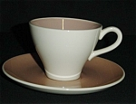 Click here to enlarge image and see more about item 771s: Harkerware Cup & Saucer Set