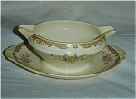 Grindley Gravy Bowl and Under Plate