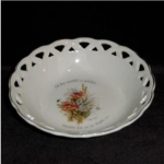 Click here to enlarge image and see more about item 790: Floral Sentiments Decorative Bowl