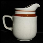 Click here to enlarge image and see more about item 805: Contemporay Chateau Stoneware Creamer