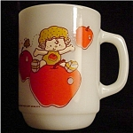 Click here to enlarge image and see more about item 811s: Strawberry Shortcake Apple Dumpling Mug