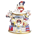 Click here to enlarge image and see more about item 813s: Disney Mickey Mouse Club Cookie Jar