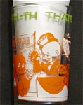 Click here to enlarge image and see more about item 827s: 1974 Welch's Elmer Fudd Glass